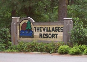 Villages Resort Sign